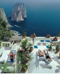 The view from the terrace of Il Canile, a villa owned by Umberto Tirelli and Dino Trappetti - Italy Amalfi Coast - fashionandphotographers.wordpress.com