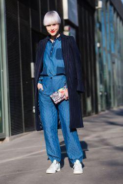 Inspiration Fashion Week automne-hiver - Pinterest
