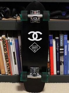 Skateboard chanel - pinterest.com