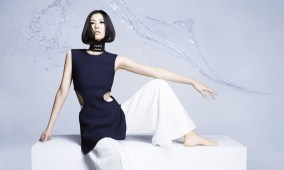 Liu Wen in Céline - Fashion Editor Carine Roitfeld and photographs by Anthony Maule