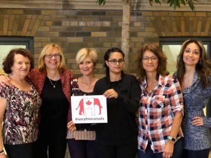 The Global March for Elephants & Rhinos - Toronto Team!