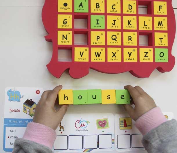 國小 兒童美語 孩童 拼字
