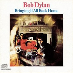 "Carátula de ""Bring it All Back Home"" de Bob Dylan"