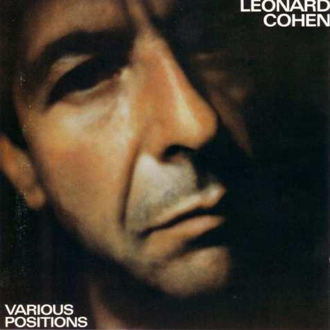 """Carátula de """"Various positions"""" (1984) de Leonard Cohen"""