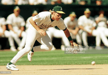 While his postseason heroics in Yankee pinstripes made Brosius a household name, the A's 20th round pick in 1987 spent the first seven seasons of his career in Oakland. Brosius established himself as a super utility man, appearing at every position on the diamond aside from pitcher and catcher for the green and gold. He had a career year in 1996, belting 22 home runs and driving in 71 runs despite appearing in just 116 games.