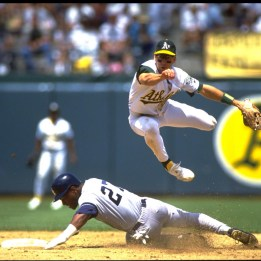 The 11th overall pick by the A's in 1987, Weiss captured the AL Rookie of the Year in 1988, the third consecutive Oakland player to win the award (Following Canseco and McGwire). Weiss went on to appear in 538 games for the A's through the 1992 season before being selected by the original Florida Marlins in the 1993 expansion draft.