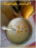 ripe mango pachadi ,mampazha pachadi,