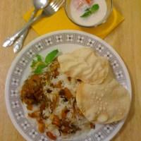 Easy Chicken Biriyani -Kerala style / No ghee, less oil version