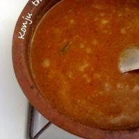 Nadan konju theeyal / Chemmeen theeyal / Shrimp in coconut & tamarind sauce