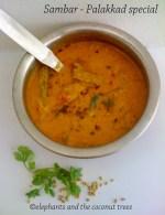 sambar with coconut.Kerala Sadhya recipes