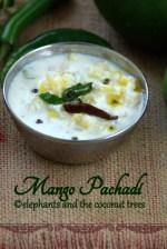 raw mango pachadi Kerala sadya recipe