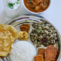 Fish Curry with Brinjal and Drumstick / Fish curry without coconut