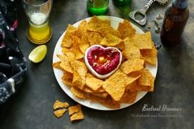 instant pot beetroot hummus recipe