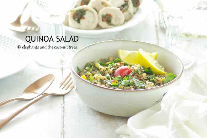 Quinoa Salad ( Zero oil recipe)