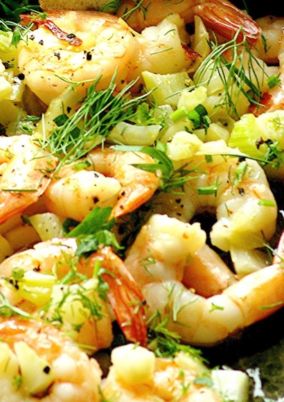 Thumbnail for Fennel and Garlic Shrimp