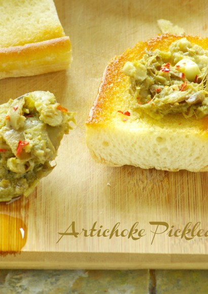 Thumbnail for Artichoke Pickled using Instant pot