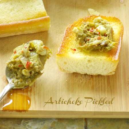 artichoke pickled with instant pot