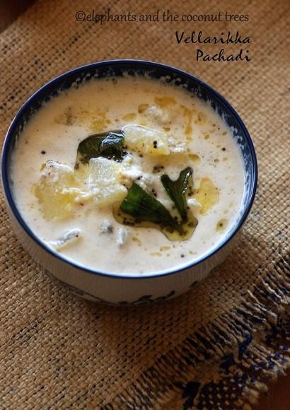 Thumbnail for Vellarikka Pachadi / Kerala sadya cucumber pachadi