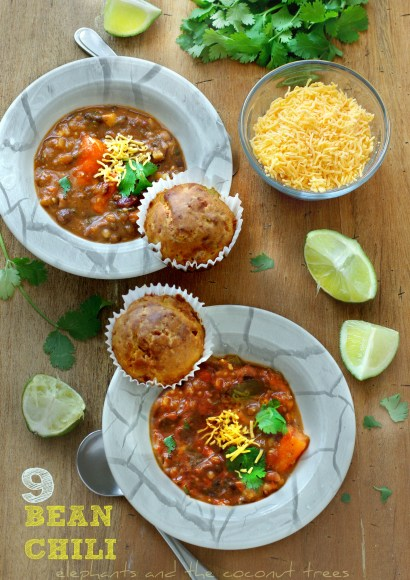 Thumbnail for Best Vegetarian Chili with 9 Beans