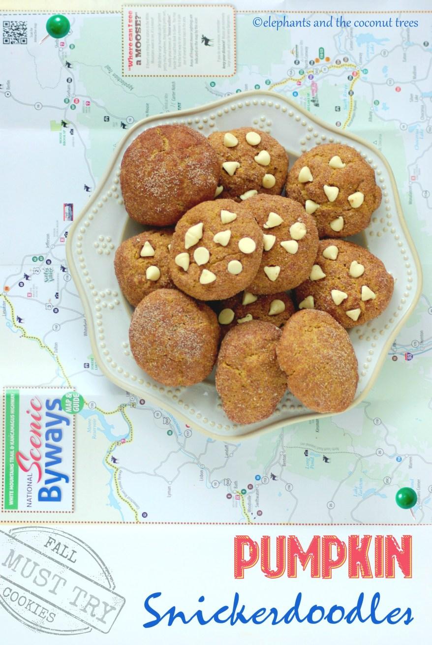 Pumpkin snickerdoodle cookies,Baked goods