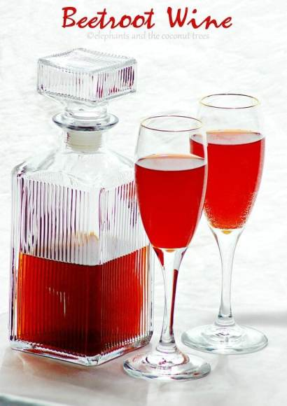 Thumbnail for Beetroot Wine / Homemade Red wine recipe / Step-by-step recipe for wine making / Easy wine recipe