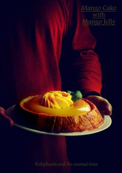 Thumbnail for Mango Cake with Mango Jelly