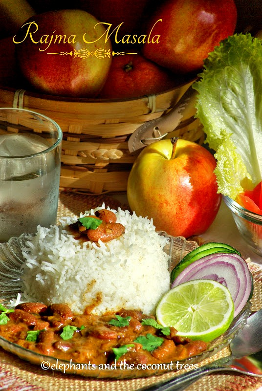 rajma chawal . rajma masala with rice. Red kidney bean curry with rice,Vegetable curry recipes