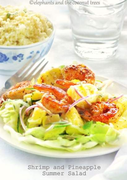 Thumbnail for Shrimp and Pineapple Summer Salad
