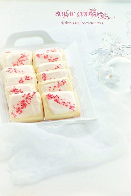 Sugar cookies,Baked goods