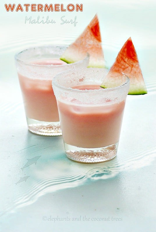 watermelon malibu surf
