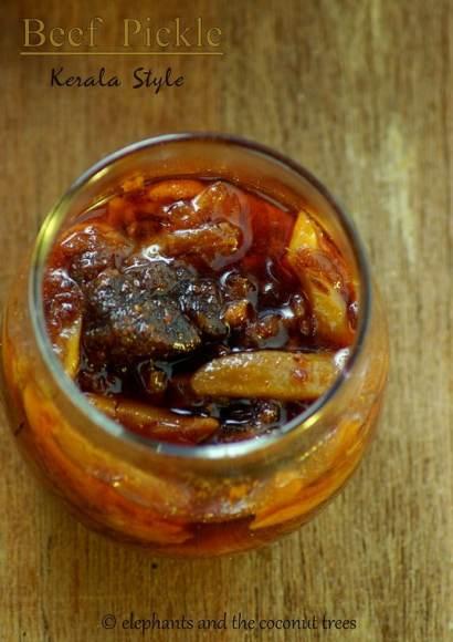 Thumbnail for Beef Pickle Kerala Style / Erachi Achar