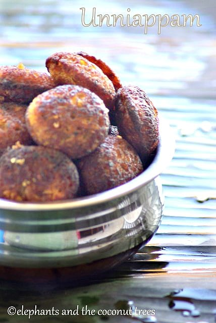 sweet rice fritter, uniappam,Indian sweets for all occasions
