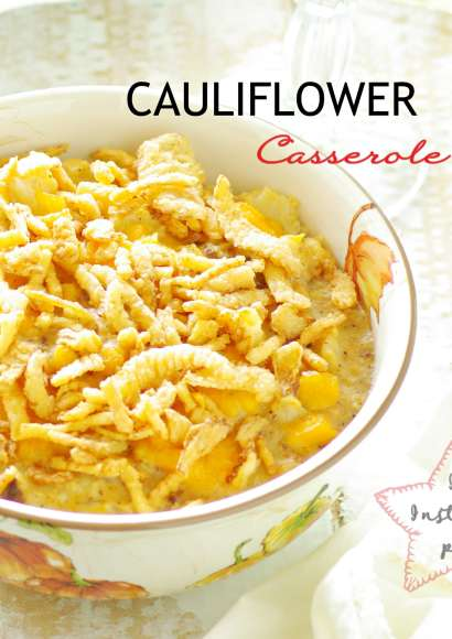 Thumbnail for Cauliflower Casserole in Instant pot (Video recipe)