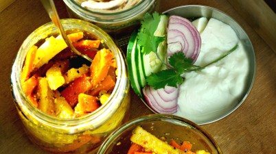 Gajar moli ka achar, carrot and radish pickle in mustard oil