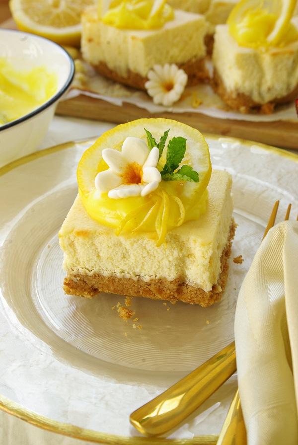lemon cheese cake squares