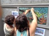 IMG_3383.Diane and Brett mosaicing shower