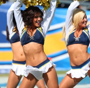 """Marlena Moreno Former San Diego Chargers Cheerleader now """"helping to save exotic wildlife"""" including elephants"""