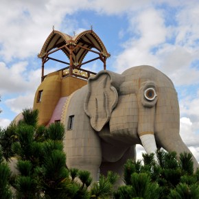 "Lucy the Elephant Celebrates the Anniversary of Her 135th Year in 2016 But the Famous American Landmark Will Not Become a ""Spokes-Elephant"" to Help Bring Awareness to the Plight of Captive Performing & Circus Elephants"