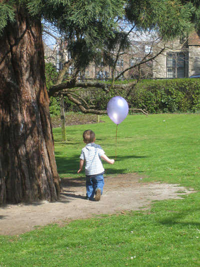 A Boy And His Balloon by Ian Sharman