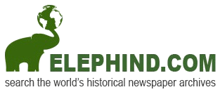 ELEPHIND.COM search the world's historical newspaper archives