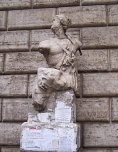pasquino a Roma