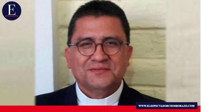 El Papa Francisco ha nombrado obispo coadjutor de la diócesis de Riobamba a Mons. Gerardo Miguel Nieves Loja, actualmente vicario general y párroco de la misma diócesis. Foto/ Fuente: ACI Prensa.