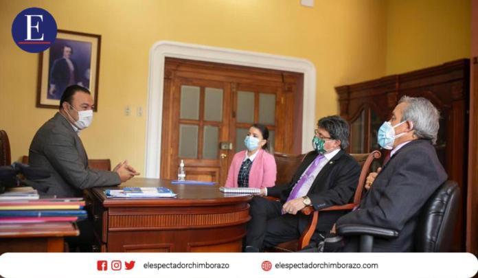 Convenio faculta a la Junta Cantonal de Protección de Derechos otorgar medidas administrativas de protección a víctimas de violencia. Foto: Comunicación GADM Riobamba.