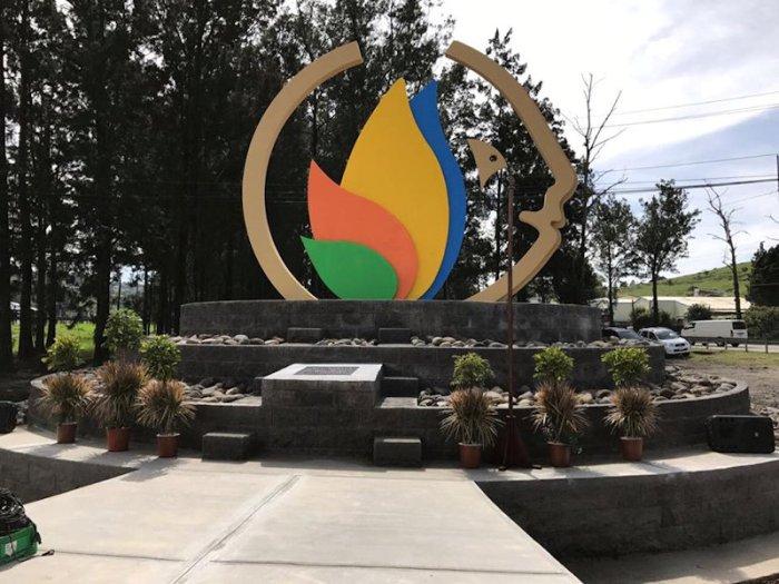 Monumento al Diálogo por la Vida y la Paz en Ochomogo