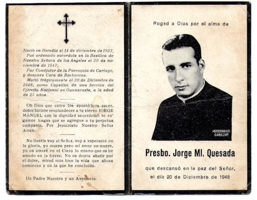 Presbo. Jorge Ml. Quesada