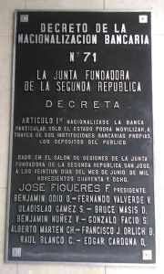 Nacionalización Bancaria