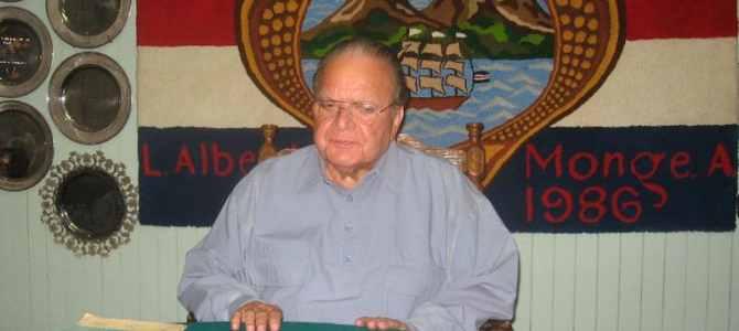 Luis Alberto Monge y la Constituyente del 49
