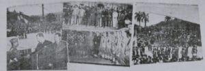 Fotografías de la recepción oficial llevada a cabo en la Casa Amarilla