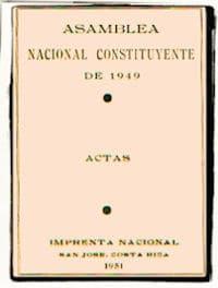 Actas constituyente 1949