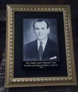 Dr. Carlos Luis Valvede Vega